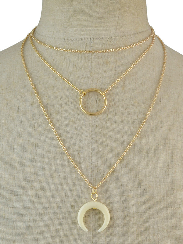 Moon Downfall Necklace
