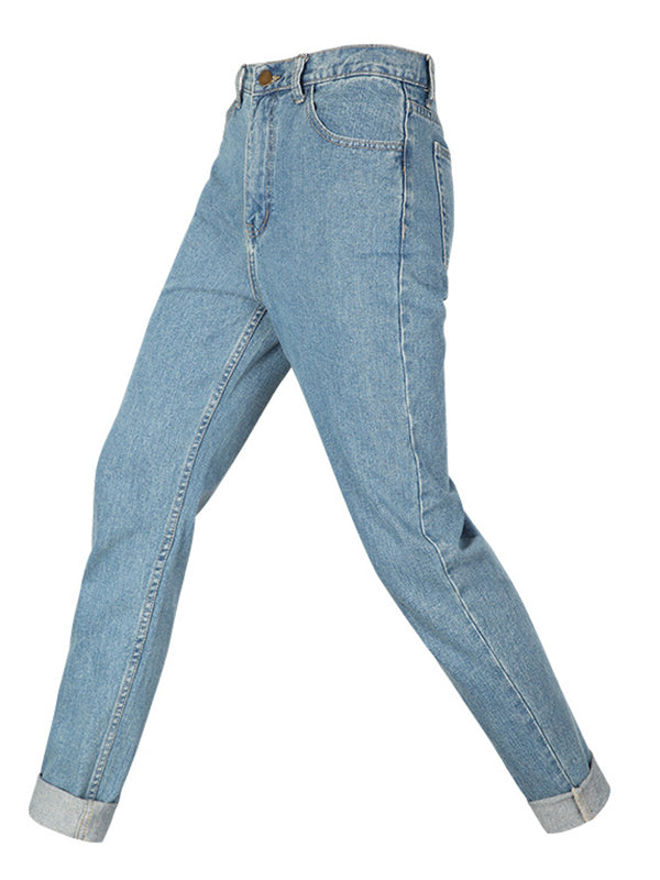 Loose Denim Pants