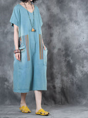 Verve Confirmed Cotton Midi Dress