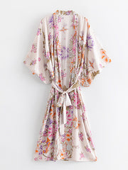 Simple As Can Kimono Robe