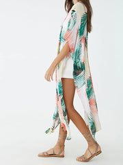 Living in Different World Cotton Kimono Gown