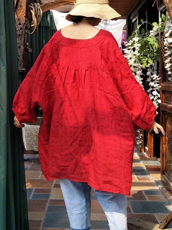 Blood Shine Tunic Top