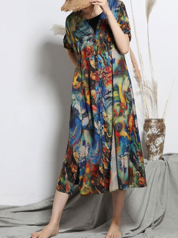Ensemble Observation A-Line Dress