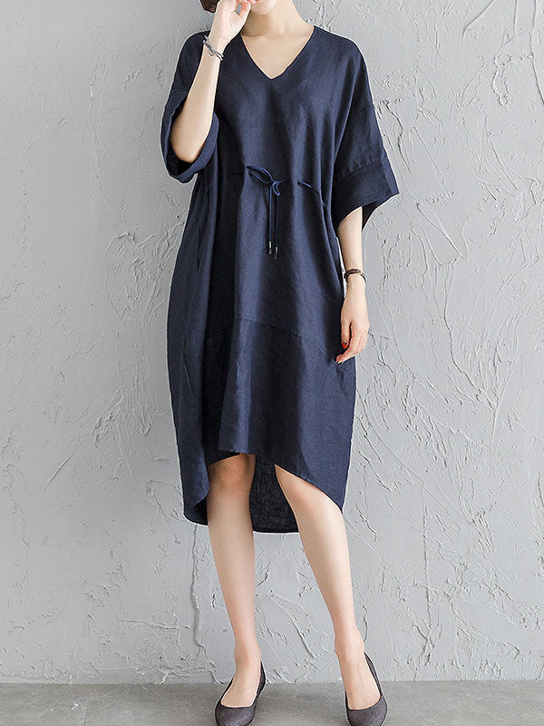 Upbeat Option Midi Dress