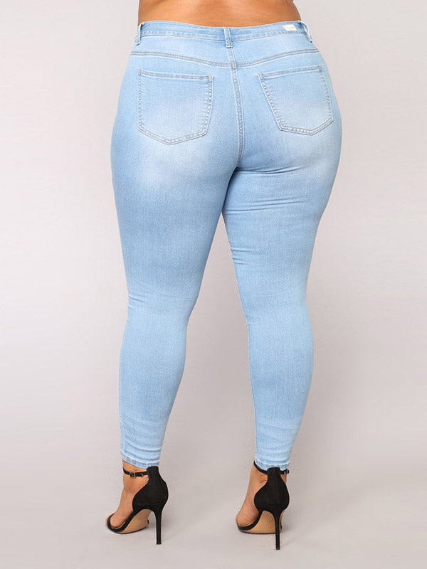 Denim High Waist Jeans