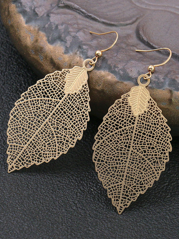 Falling Leaves Dangle Earrings