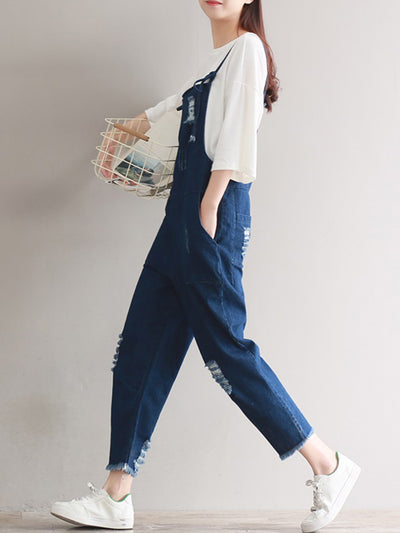 Denim Chaser Overall Dungarees