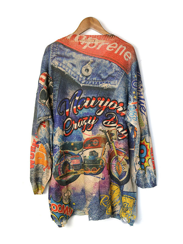 New York Crazy Days Sweater Top