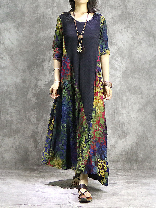 Harriet Knit Jacquard Maxi Dress