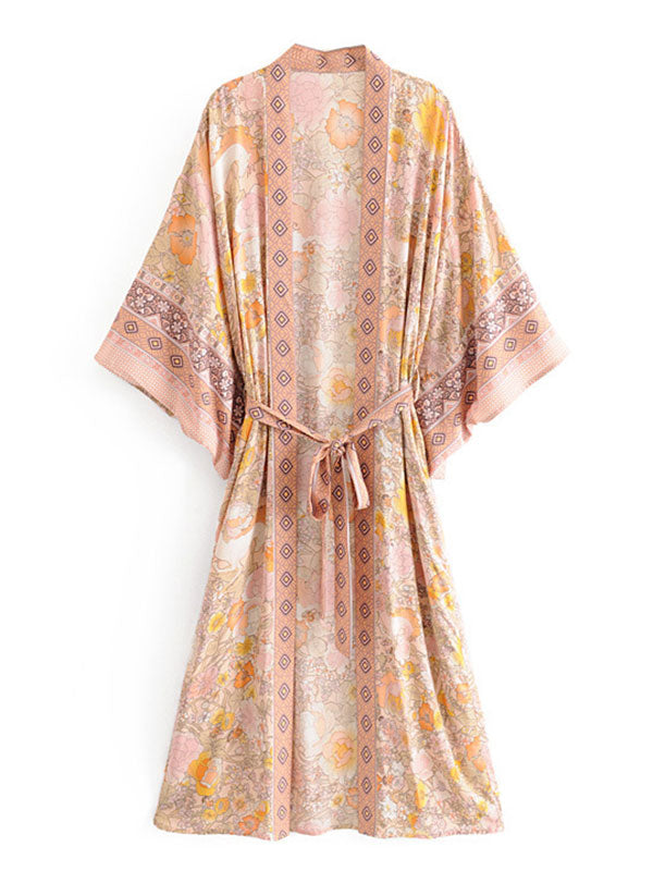 Let the Good Times Kimono Robe
