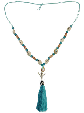 Sea Pearl Tassel Necklace