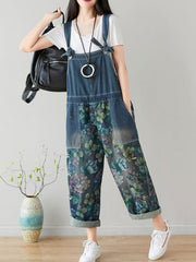 Knot Necessity Baggy Oversize Denim Overall Dungaree