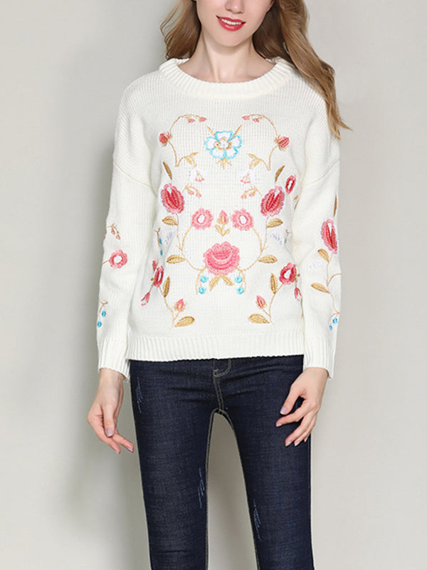 Tiny Florals Sweater