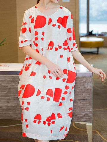 Puggy Punch Midi Dress