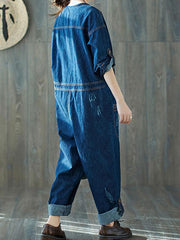50s Revival Overall Dungarees