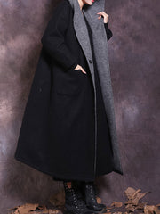 Be true woolen Hooded Coat