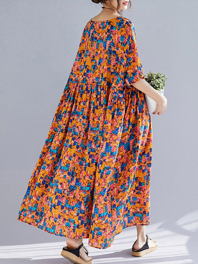 Maisie Shivering Blossom Smock Dress