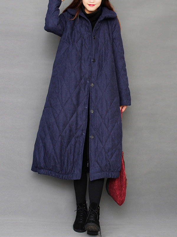 Light The Way Puffer Cotton Coat