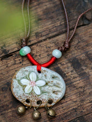 Ethnic Wear Literature Long Necklace