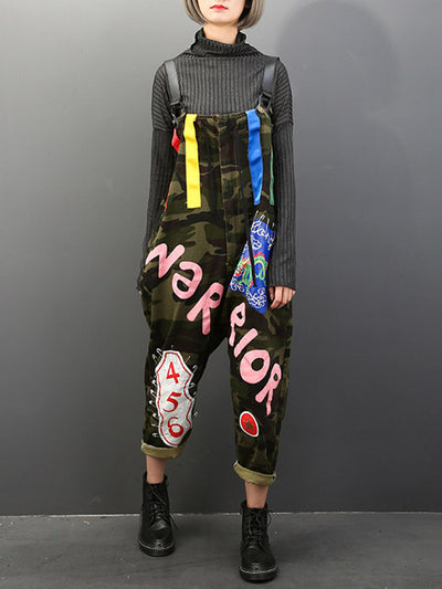 Warrior Camo Overall Dungarees