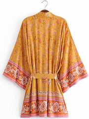 Remember The Look Gown Robe Kimono
