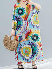 Exceptional Attire Kaftan Maxi Dress