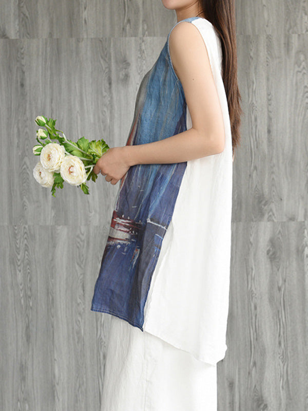 Sail Boat Sleeveless Top