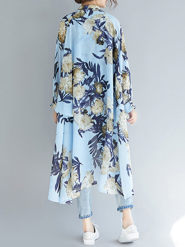 Daisy For Days High-Low Floral Shirt
