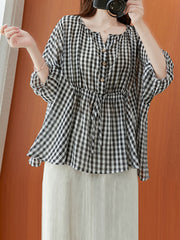 Much Endure Cotton Tunic Top