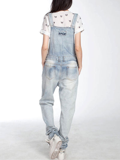 Totally Lucky Boyfriend Overalls Dungaree