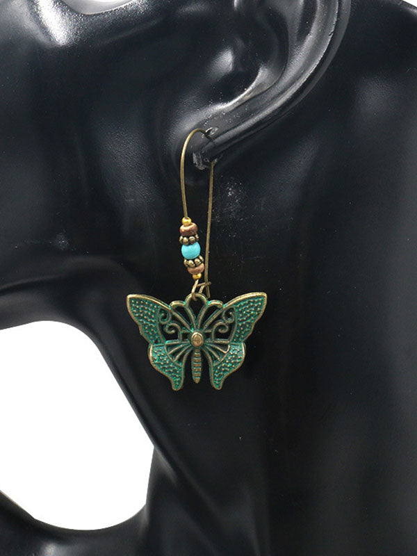 Sing of Wings Butterfly Earrings