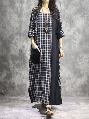 Remix Kaftan Dress