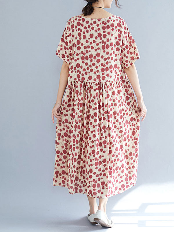 Go Gracefully Cotton Smock Dress