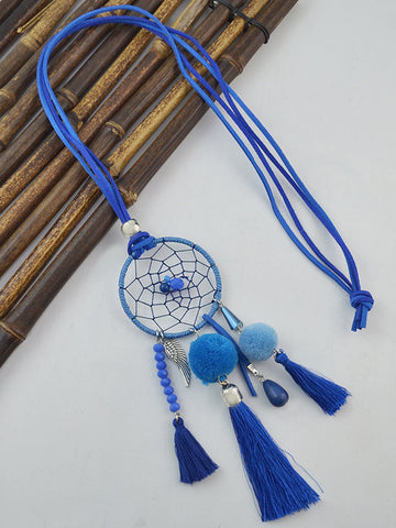 Wind Chime Tassel Necklace