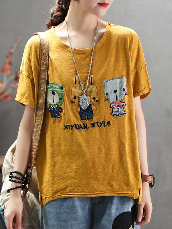 Hello Kitty Cotton T-Shirt