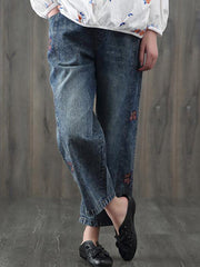 Floral Fields Cropped Pants
