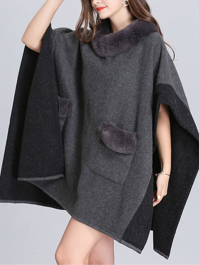 A Cozy Offering Plus Size Cape Cardigan
