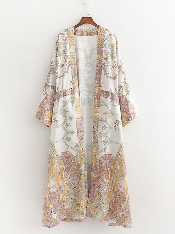 Right on Clue Kimono Robe