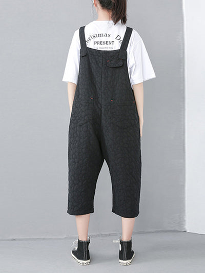 Kamryn Linen Cotton Ninth Overall Dungarees
