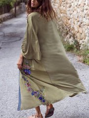 Person You Love Cotton Kimono Gown