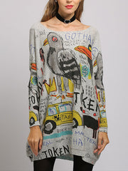 City of Happiness Sweater Top
