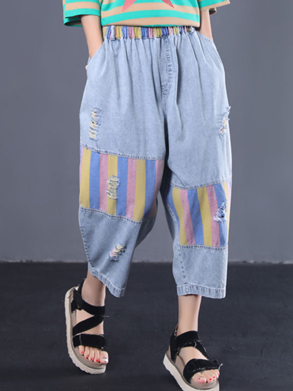 Boardwalk Breeze Cotton Pants