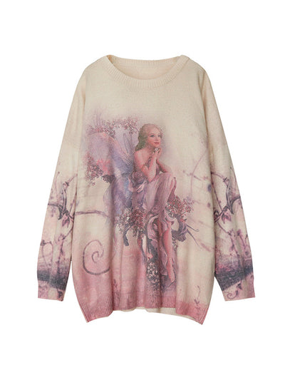 Falling Angel Sweater Top
