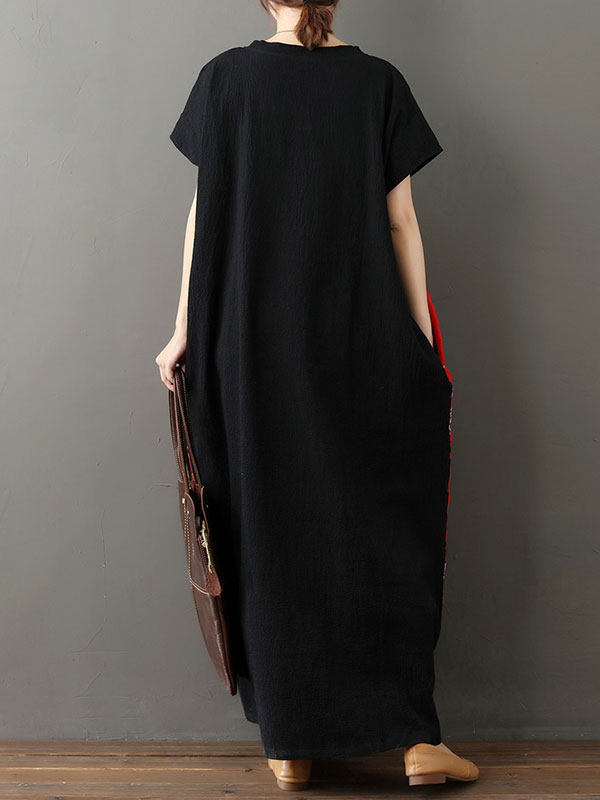 Fabulous Fit Black Maxi Dress