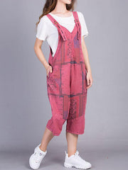 Race For Overall Dungarees