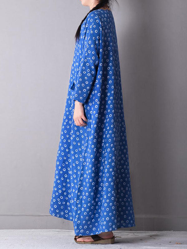Imperial Disc Maxi Dress