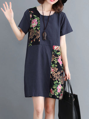 Floral Of Paradise Tunic Top