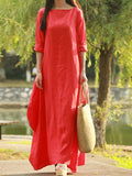 Colors Of Spring Maxi Dress