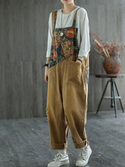 Brown Haze Overall Dungarees