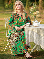 Inner Peace Of Love Kaftan Dress